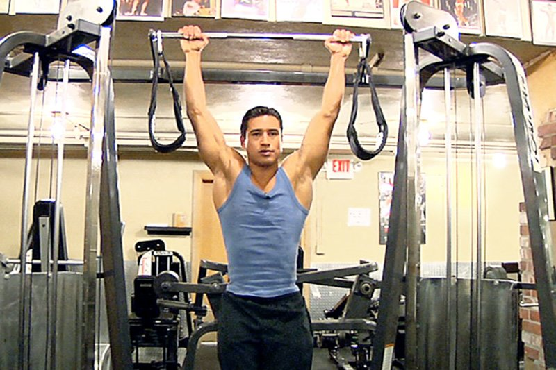 Mario Lopez Workout