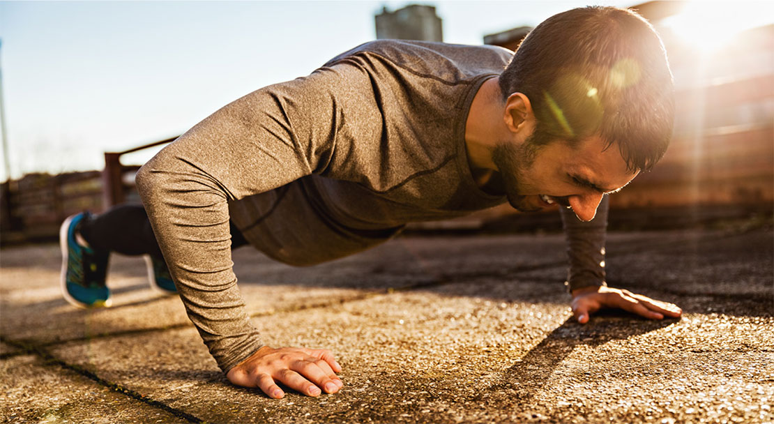 1-month Push Up Challenge For Men: How the body will change