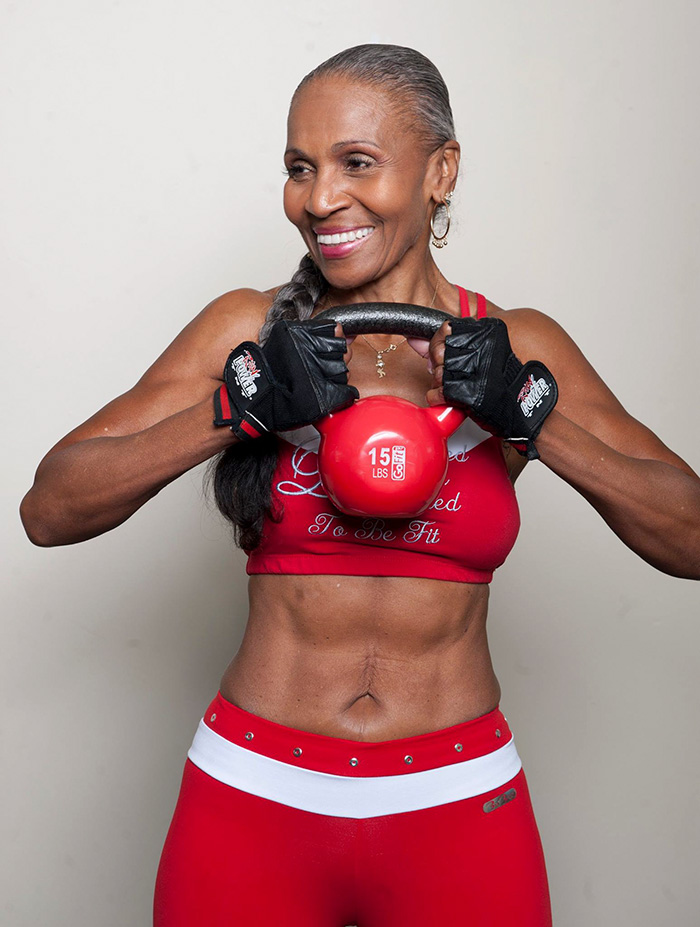 70 year old woman bodybuilder