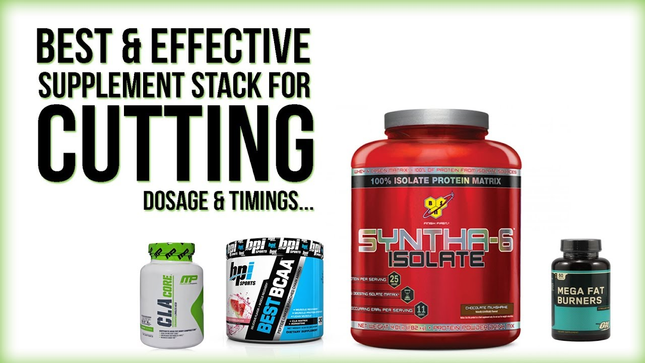 best supplement stack for cutting