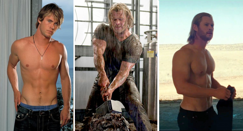 Chris Hemsworth supplements and workout