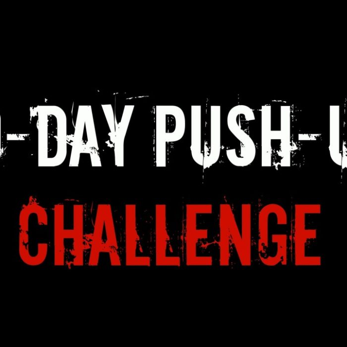 push up challenge 30 days