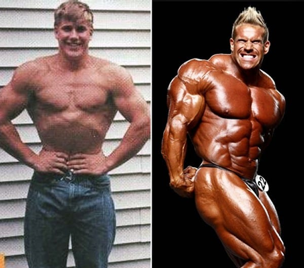 Jay Cuttler transformation