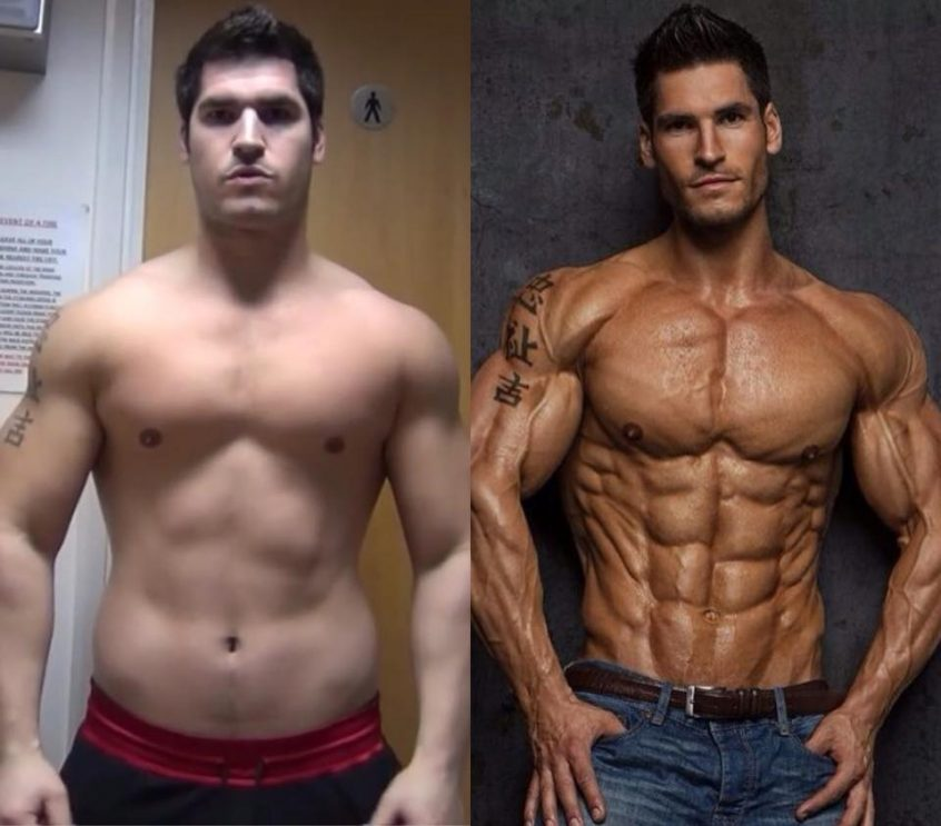 Before and after steroids: Clenbutero results