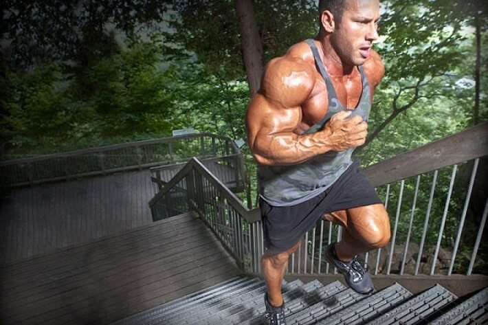 bodybuilding and running