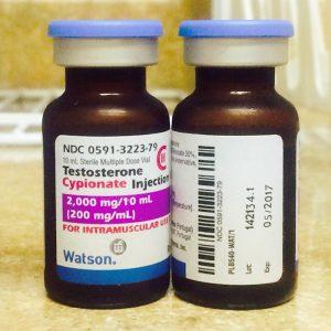 testosterone cypionate watson